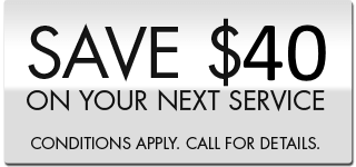 save $50 on your next service