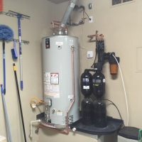 water heater installation project in cave creek, az
